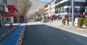 Elbistan'da Sokaklar Boşaldı