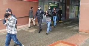 Hırsızlık Zanlısı 6 Kişi Yakalandı