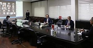 KMTSO Video Konferans İle Toplantı Yaptı