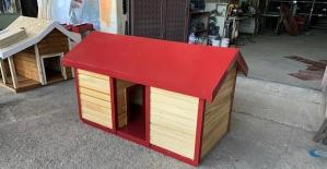 Köpek Evleri Montajı Devam Ediyor
