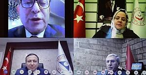 Rektör Bakanla Borç ve Finansmanı Görüştü