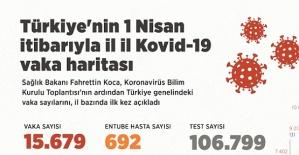 Türkiye'nin Coronavirüs Haritası