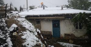 Kahramanmaraş'a Kar Yağdı