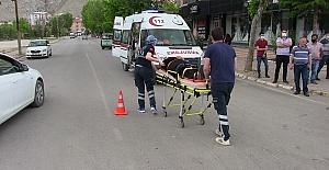 Trafik Kazasında 1 Yaralı