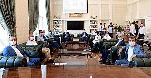 Güngör Türkoğlu Belediyesini Ziyaret Etti