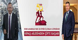 M. Hanefi ve Ahmet Öksüz En Etkili 50 İş İnsanı Arasında