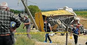 Tren Çarptı 1 Ölü 2 Yaralı