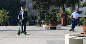 Elektrikli Scooterlar Kahramanmaraşta