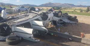 Kazada 1 Kişi Öldü 9 Yaralı