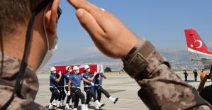Şehit Özel Harekatçı Kahramanmaraş'a Getirildi