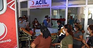Bıçakla Yaralandılar Koşarak Hastaneye Gittiler