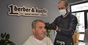 Kahramanmaraşlı Berber Türkiye İkincisi Oldu