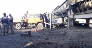 Kahramanmaraş'ta Kaza 1 Ölü 7 Yaralı