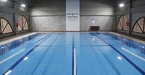 Onikişubat Kapalı Yüzme Havuzunu Açtı