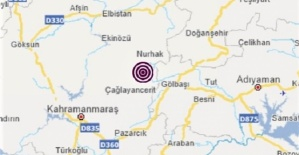 Nurhak'ta Deprem Oldu