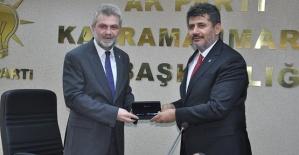 Kahramanmaraş AK Parti'de Devir Teslim