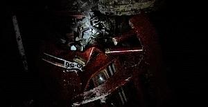 Traktör Dere Yatağına Düştü 1'i Bebek 3 Yaralı