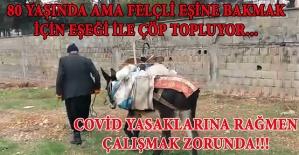 Kahramanmaraş'ta 80 Yaşında Çöple Geçiniyor