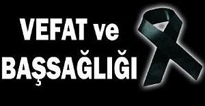 08.01.2021 Cuma Kahramanmaraş Vefat...