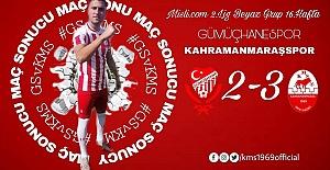 Gümüşhanespor 2 - Kahramanmaraşspor 3
