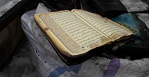 Kahramanmaraş'ta Cami Yandı Kur'an Sapasağlam Kaldı