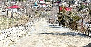 Andırın'da Yollar Yenileniyor