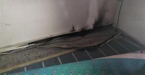 Cuma Namazında Camide Yangın Çıktı