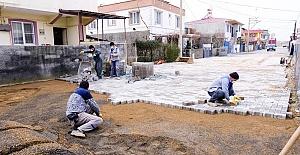 Dulkadiroğlu Asfalt ve Kilit Parkeye Yoğunlaştı