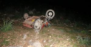 Kahramanmaraşta Motosiklet Kazasında...