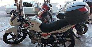 Yeni aldığı Motosikletini Çaldırdı