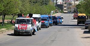 Jandarmadan 23 Nisan Konvoyu