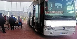 Kahramanmaraşspor'a Ulaşım Desteği