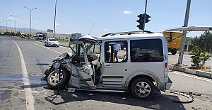 Kahramanmaraşta Kaza 7 Yaralı