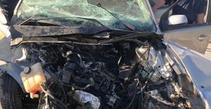 Kahramanmaraş'ta Kaza 1 Ölü 2 Yaralı