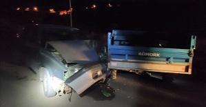 Otomobil İle Patpat Çarpıştı 1 Ölü