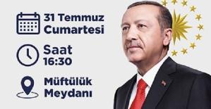 Cumhurbaşkanı Kahramanmaraş'a Geliyor
