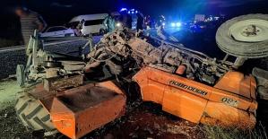 Kahramanmaraş'ta Korkunç Kaza 5 Yaralı
