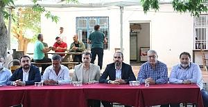 Özdemir Pazarcık'ı Ziyaret Etti