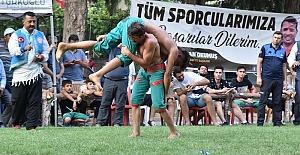 Türkoğlu'nda Güreş Festivali
