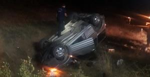 İneğe Çarpan Sürücü Hayatını Kaybetti