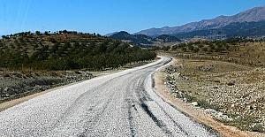 40 Kilometre Yol Yapıldı