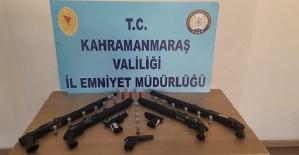 Kahramanmaraş'ta 8 Kişi Yakalandı