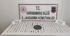 Kahramanmaraş'ta Tarihi Eser Ele Geçirildi