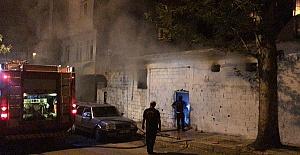 Kuyucak Hamamı'nda Yangın Çıktı