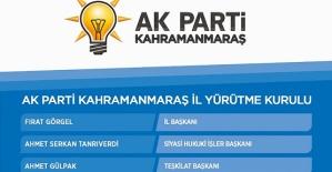 AK Parti Yürütme Kurulunda Değişiklik