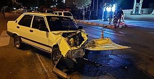 Kahramanmaraş'ta Kafa Kafaya Çarpıştılar 3 Yaralı