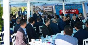 Mahçiçek Expo Alanında MHP Teşkilatıyla Buluştu