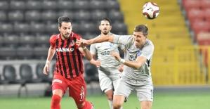 Gazişehir Gaziantep 1-0 Yenildi