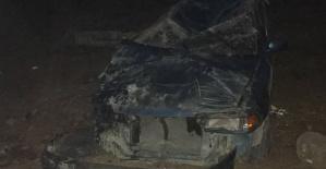 Tatilden Dönen Suriyeli Kaza Yaptı 6 Yaralı