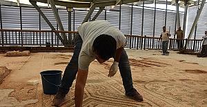 9 Yıl Önce Bulunan Mozaik Ziyarete Açılıyor